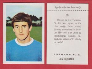 Everton Jimmy Husband 65
